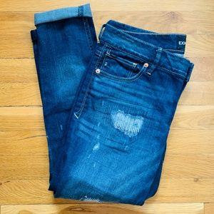 Express Jeans Ankle Leggings Stella-Low Rise sz 6